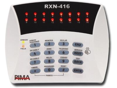 RXN-406/RXN-416 LED Keypads