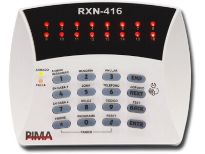 Teclado de LED RXN-416