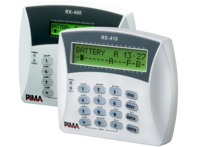 RXN-400/RXN-410 LCD Keypads