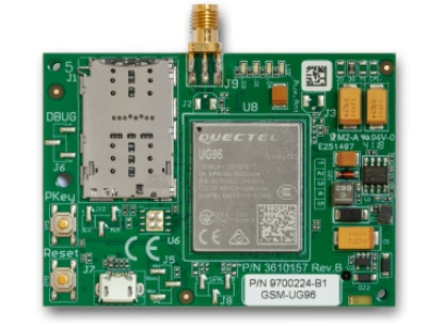 CLM302 dual-SIM 3G cellular transmitter