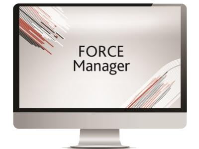 FORCE Manager  – Aplicación para PC