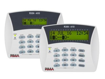 Teclados de LCD RXN-400/RXN-410